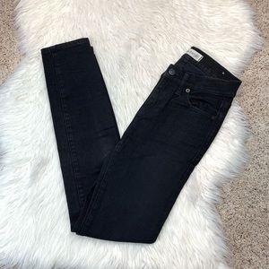 Madewell Black Skinny Skinny Jeans 24